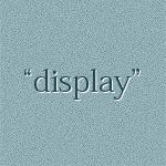 display-property
