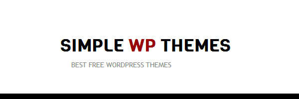 SIMPLE WP THEMES