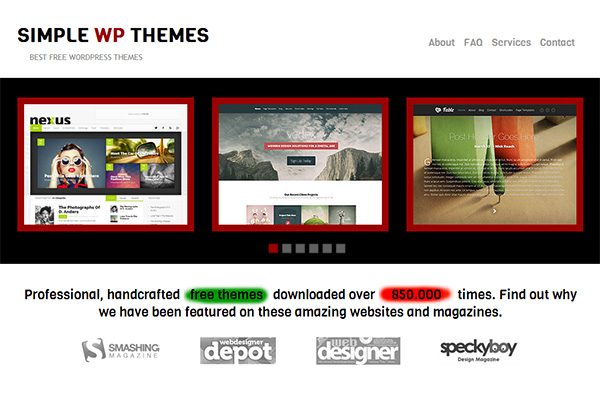 simple-wp-themes