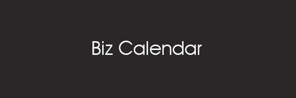 営業日カレンダーを簡単に設置できるプラグイン「Biz Calendar」