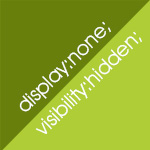 display:noneとvisibility:hiddenの違い