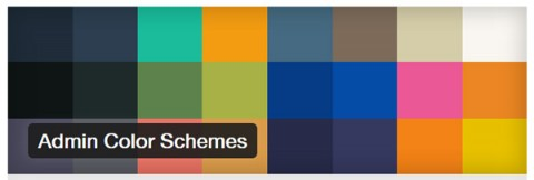 Admin Color Schemes