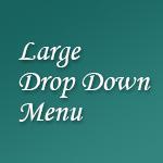 メニューカテゴリーが多い時に役立つドロップダウンメニュー LARGE DROP DOWN MENU