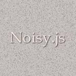 背景にザラつきを表現してくれる「Noisy」プラグイン