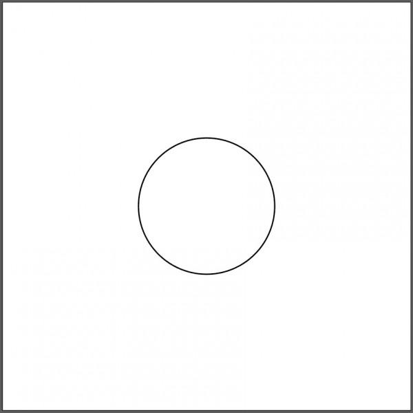 円を描きます