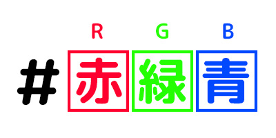 16進数による色の指定