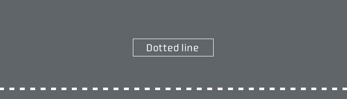 【Ps】サクッと点線をつくる方法
