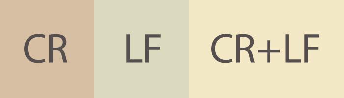 改行コードCR・LF・CR+LFの違いって何なの?