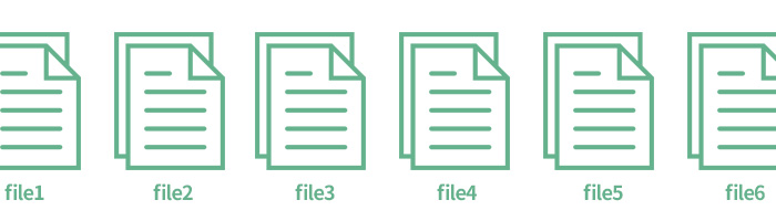 ファイル名を一括で変更し連番を振る方法