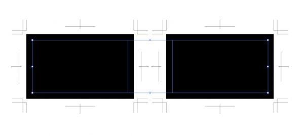 オフセットにより長方形が追加される